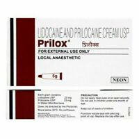 Prilox Cream 5gm LIGNOCAINE 25 mg +PRILOCAINE 25 MG