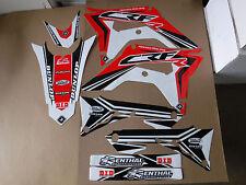 New Honda CRF 450 R 17 2017 FLU PTS3 Graphics Sticker Decals Kit Motocross