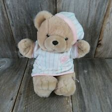 Vintage Teddy Bear Plush Heart to Heart Stuffed Animal Heart Beat Chosun Interna