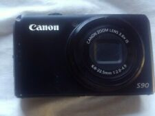 2 Used Canon Digital Cameras PowerShot S90 10MP and IXUS 132 16MP For Repair