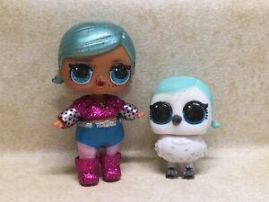 LOL Surprise Glam Glitter Series Gorgeous Brrr B. B. pet Snow owl BRRRD Preowned