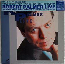 ROBERT PALMER Laserdisc Live w/ UB40 JAPAN LD OBI