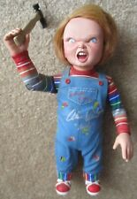 """12"""" talking Childs Play Chucky figure signed by Alex Vincent Neca"""