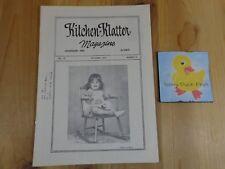 KITCHEN KLATTER Magazine OCTOBER 1975 Fortune in Your Attic