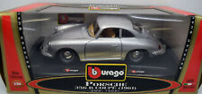 Bburago 1:24 15021 Porsche 356 B Coupe ( 1961 ), silber, in OVP