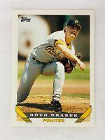 Doug Drabek Pittsburgh Pirates 1993 Topps Baseball Card 190