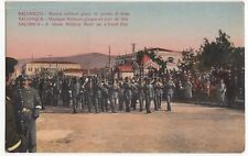 Greece; Salonica, A Greek Military Band On A Feast Day PPC By BRD, Unused, c WW1