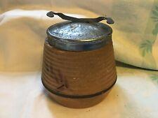 More details for vintage bramley england sugar cube pot with mechanical lid