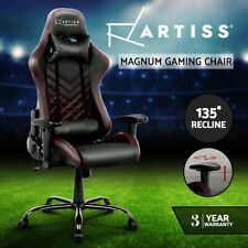Artiss Gaming Office Chair Executive Desk Chairs Racing Recliner Seat Black