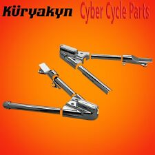 Kuryakyn Chrome Swingarm Covers For 2000-2007 Harley Davidson Softails 8256