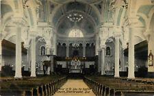 An Interior View, St John The Baptist, Sherbrooke, PQ Quebec Canada