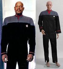 Star Trek Nemesis Voyager Captain Sisko Uniform Outfit Costume *Tailored*