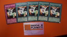 LOTTO 5 CARTE FINAL in Italiano ORIGINALI  YUGIOH!  AFFARE!