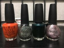 Lot Four 4 Nicole by Opi H53 Hague K29 Snow Z22 Cuckoo K31 Glam nail lacquer