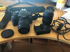 Canon Eos 650d SLR Camera plus 2 lenses 28-80 and 80-200 and charger