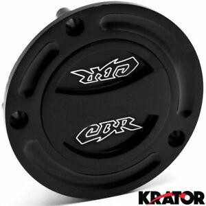 Keyless Gas Cap For Honda CBR 600RR 900 250 RR Logo Engraved Twist Off Fuel Cap