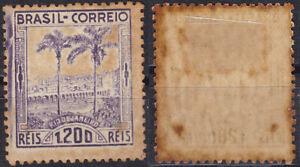 Brazil 1939 1200R Rio de Janeiro Palm Trees Sc475 MH No2 - US-Seller