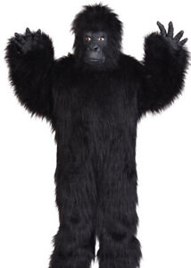 Deluxe GORILLA Youth Jumpsuit Costume Kids Large