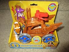 Imaginext DC Fisher Price Wonder Woman Hippolyta Battle Chariot mom Mother Queen