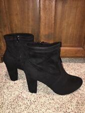 Lane Bryant Boots 12 Wide 12W Stretch Ankle Black NIB