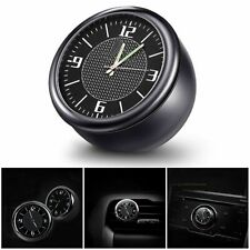 Fit For Audi S-line Luminous Car Electronic Quartz Clock Air Vent Refit Interior