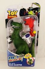 New! Mattel Toy Story RC's Race Deluxe Rex Figure W/ Race Blaster