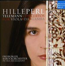 Telemann: Gambenkonzerte - Hille Perl (2009, CD NEU)