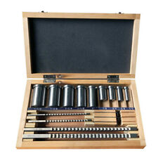 18pcs Keyway Broach Kit 1/8 3/16 1/4 3/8 Inch Size HSS CNC Metalworking Tool Set