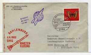 5347) Germany 1962 Raketenflugtag DRG Rocket Space
