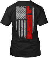 Long-lasting Trucker Usa Flag Hanes Tagless Tee Hanes Tagless Tee T-Shirt