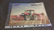 Case Maxxum Traktor PROSPEKT 4/2016