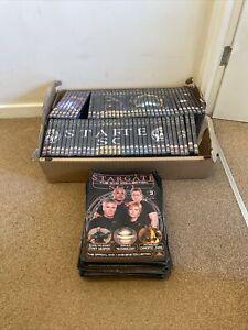 Stargate Atlantis The DVD Collection Magazine & DVD Job Lot Incomplete Unopened