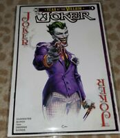The Joker Year of the Villain #1 Clayton Crain Trade Dress Variant  2019 NM