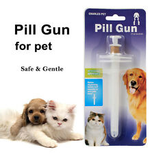 Dog Medicine Pill Gun Popper Piller Pusher Feed Cat Medication Syringe Pet Safe