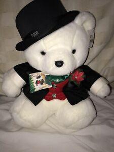 Santa Bear 2000  Wedding Groom Daytons  Hudson Marshall Fields  NEW With Tags