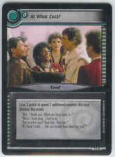 Star Trek CCG Necessary Evil 4R40 At What Cost?