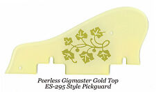Peerless Gigmaster SC ES-295 ES295 Gold Top Floral Pickguard Project NEW
