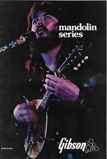 VINTAGE MUSICAL INSTRUMENT CATALOG #10013 -1975 GIBSON MANDOLINS - DASH CROFTS