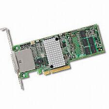 LSI MegaRAID SAS 9285-8e Ext. PCI-E 6Gb/s SATA +SAS RAID controller. 1G DDRIII.