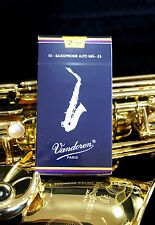 Anches de saxophone Alto Mib/Eb Vandoren classique - boite de 10 anches