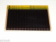 Microfich Ersatzteilkatalog Suzuki Swift Sa 310 Stand 02/1988