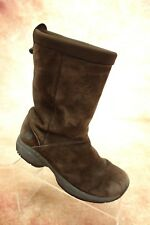 Merrell Primo Chill Massif Brown Suede Leather Pull On Boots Womens Size 7