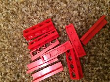 RED Small LEGO Garden Fence Walls LOT *CHEAPEST ON EBAY* FAST FREE UK POST