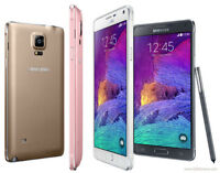 Samsung Galaxy Note 4 SM N910F 4G 32GB Black White Unlocked Various Grade Colour