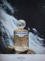 PUBLICITÉ DE PRESSE 1977 PARFUM EAU DE ROCHE DE ROCHAS - ADVERTISING