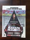1985 vintage original print ad Timex Iron Man Triathlon Sports Watch