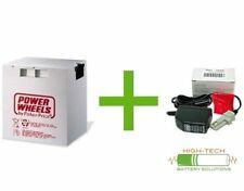Fisher-Price Power Wheels 12 v Grey Battery and Charger Kit - 00801-1460