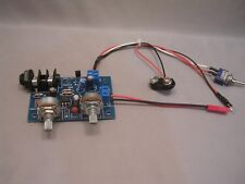9V CIGAR BOX GUITAR AMP & WIRING HARNESS NOW WITH UPGRADED POTS