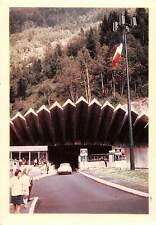 BF39728 tunnel du mont blanc  italy   car voiture oldtimer