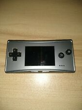 Nintendo Game Boy Micro Silver Handheld System (charging cable included)